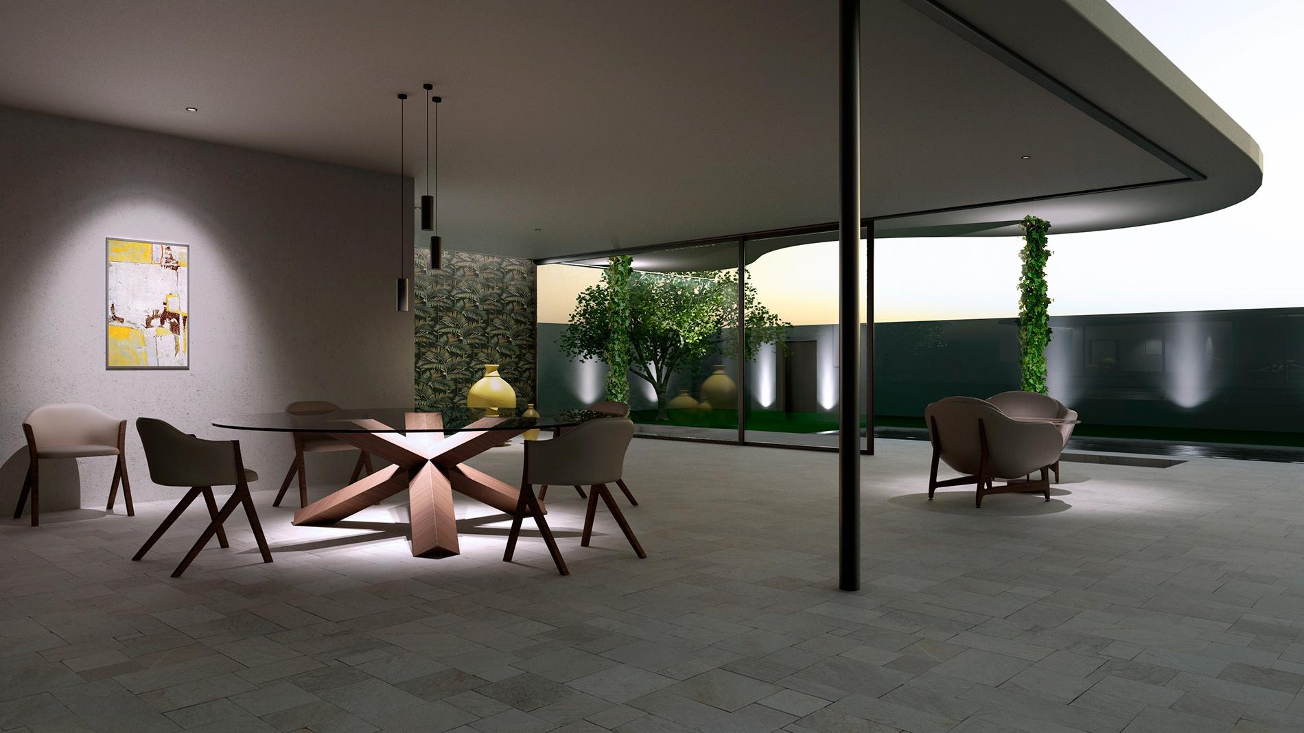 ambientazione ivela 3d rendering